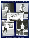 University of San Diego Men's Tennis Media Guide 2001-2002 by University of San Diego Athletics Department