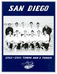 University of San Diego Men's Tennis Media Guide 2002-2003 by University of San Diego Athletics Department