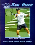 University of San Diego Men's Tennis Media Guide 2003-2004