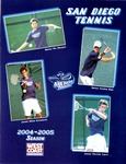 University of San Diego Men's Tennis Media Guide 2004-2005 by University of San Diego Athletics Department