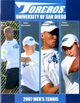 University of San Diego Men's Tennis Media Guide 2007
