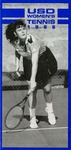 University of San Diego Women's Tennis Media Guide 1988