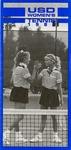 University of San Diego Women's Tennis Media Guide 1989 by University of San Diego Athletics Department