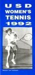 University of San Diego Women's Tennis Media Guide 1991-1992 by University of San Diego Athletics Department