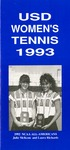 University of San Diego Women's Tennis Media Guide 1992-1993 by University of San Diego Athletics Department