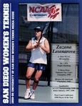 University of San Diego Women's Tennis Media Guide 1998-1999 by University of San Diego Athletics Department
