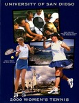 University of San Diego Women's Tennis Media Guide 1999-2000