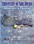 University of San Diego Women's Tennis Media Guide 2000-2001 by University of San Diego Athletics Department