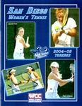 University of San Diego Women's Tennis Media Guide 2004-2005 by University of San Diego Athletics Department