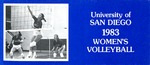 University of San Diego Volleyball Media Guide 1983 by University of San Diego Athletics Department