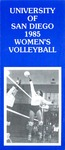 University of San Diego Volleyball Media Guide 1985 by University of San Diego Athletics Department