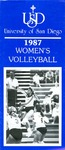 University of San Diego Volleyball Media Guide 1987 by University of San Diego Athletics Department
