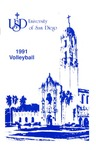 University of San Diego Volleyball Media Guide 1991 by University of San Diego Athletics Department