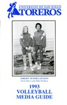 University of San Diego Volleyball Media Guide 1993 by University of San Diego Athletics Department