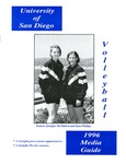 University of San Diego Volleyball Media Guide 1996
