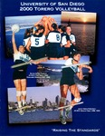 University of San Diego Volleyball Media Guide 2000 by University of San Diego Athletics Department