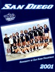 University of San Diego Volleyball Media Guide 2001 by University of San Diego Athletics Department