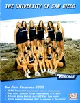 University of San Diego Volleyball Media Guide 2003 by University of San Diego Athletics Department
