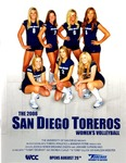 University of San Diego Volleyball Media Guide 2008