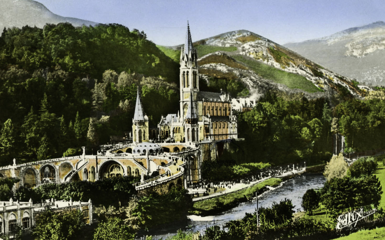 Pilgrimage Site of Lourdes