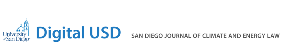 San Diego Journal of Climate & Energy Law