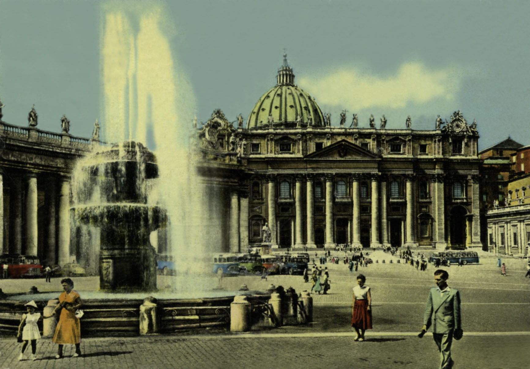 Vatican City Postcard Collection