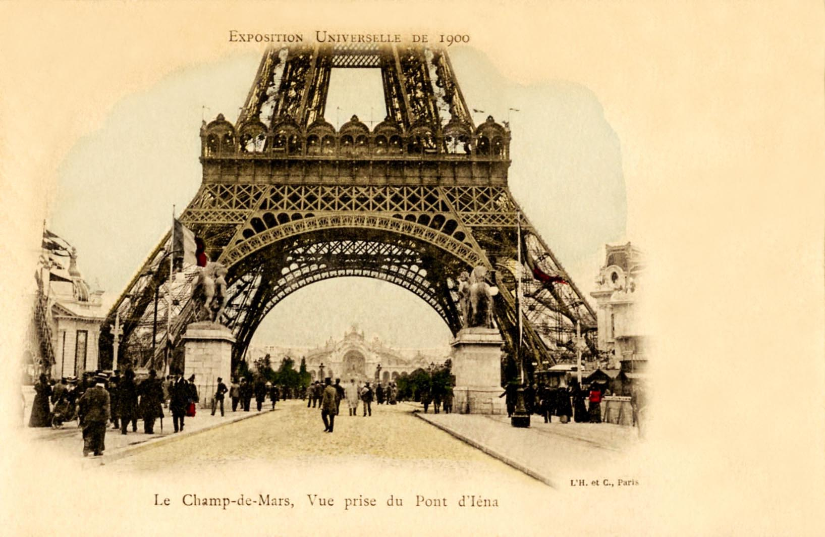 Paris Exposition Postcard Collection