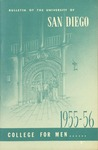 Bulletin of the University of San Diego College for Men 1955-1956