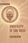Bulletin of the University of San Diego College for Men 1956-1958