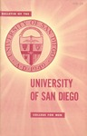 Bulletin of the University of San Diego College for Men 1958-1959