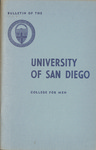 Bulletin of the University of San Diego College for Men 1959-1960