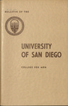 Bulletin of the University of San Diego College for Men 1961-1962