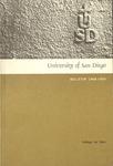 University of San Diego Bulletin 1968-1969 College for Men