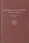Bulletin of the San Diego College for Women 1960-1961