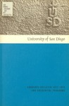 Bulletin of the University of San Diego Graduate Division 1972-1973 by University of San Diego