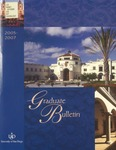 Bulletin of the University of San Diego Graduate Division 2005-2007 by University of San Diego