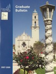 Bulletin of the University of San Diego Graduate Division 2007-2009 by University of San Diego