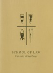 Bulletin of the University of San Diego School of Law 1965-1966