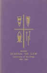 Bulletin of the University of San Diego School of Law 1975-1977