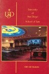 Bulletin of the University of San Diego School of Law 1981-1983