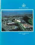 Bulletin of the University of San Diego School of Law 1991-1993 by University of San Diego. School of Law