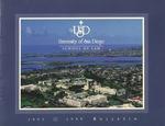 Bulletin of the University of San Diego School of Law 1997-1999