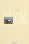Bulletin of the University of San Diego School of Law 2001-2003 by University of San Diego. School of Law
