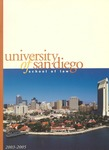 Bulletin of the University of San Diego School of Law 2003-2005 by University of San Diego. School of Law