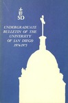 Undergraduate Bulletin of the University of San Diego 1974-1975 by University of San Diego