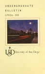 Undergraduate Bulletin of the University of San Diego 1986-1988 by University of San Diego
