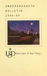 Undergraduate Bulletin of the University of San Diego 1986-1988