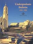 Undergraduate Bulletin of the University of San Diego 1996-1998