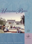 Undergraduate Bulletin of the University of San Diego 1998-2000