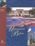 Undergraduate Bulletin of the University of San Diego 2004-2006